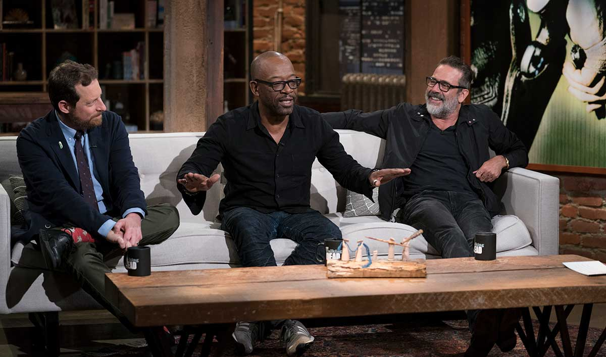 Jeffrey Dean Morgan and Lennie James Preview What's to Come in <em>The Walking Dead</em> Season 8