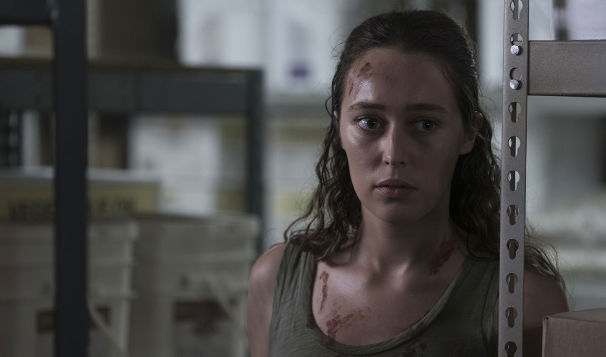 Alicia Fights Her Way Out of the Bunker in this Scene From <em>Fear the Walking Dead</em> Episode 13