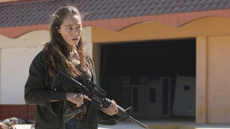 Sneak Peek of <em>Fear the Walking Dead</em> Episode 14 — Will Alicia's Encounter With a Mystery Woman End in Violence?