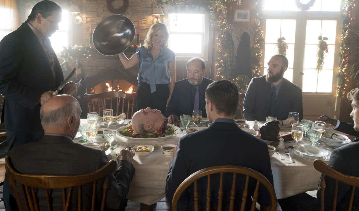 Severed Heads and Arms Make for the Creepiest Christmas Dinner Ever in <em>Fear the Walking Dead</em>&#8216;s Season 3 Finale