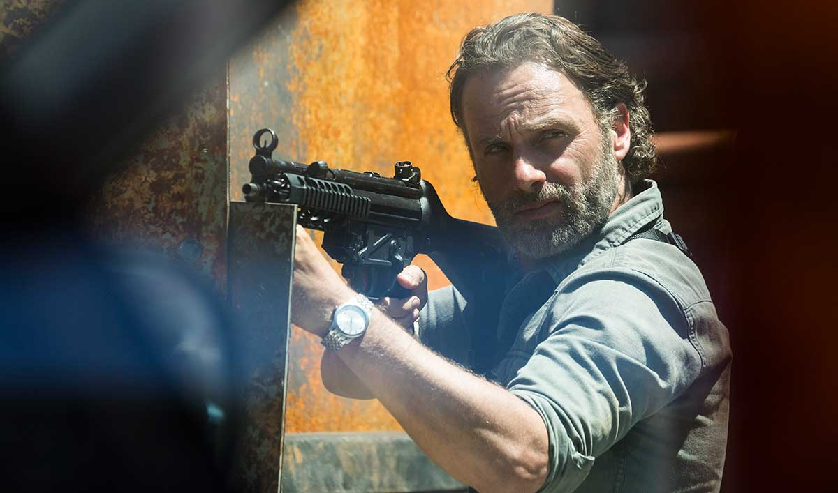 (SPOILERS) <em>The Walking Dead</em> Q&#038;A — Andrew Lincoln (Rick)
