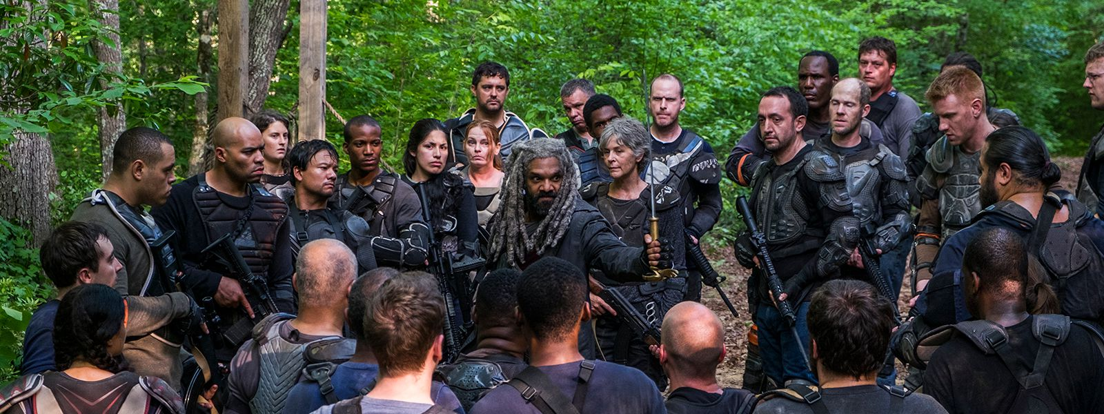 The Walking Dead Episode  Ezekiel Payton Carol