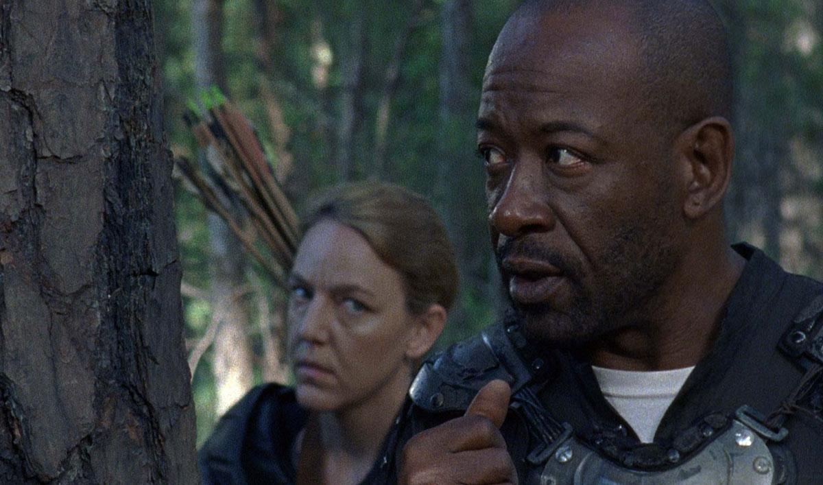 Sneak Peek of <em>The Walking Dead</em> Episode 2 &#8212; An Unlikely Defense Trips Up Jesus and Morgan