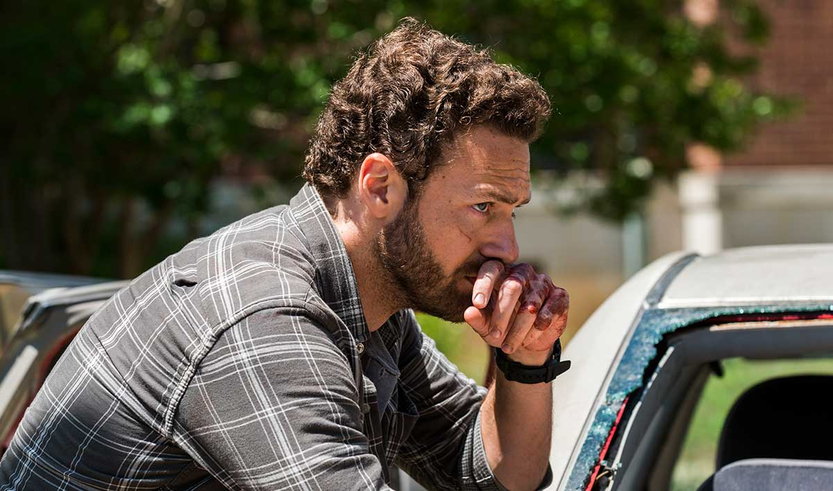 <em>Talking Dead</em> Airs This Sunday With Ross Marquand and Robert Kirkman After <em>The Walking Dead</em>