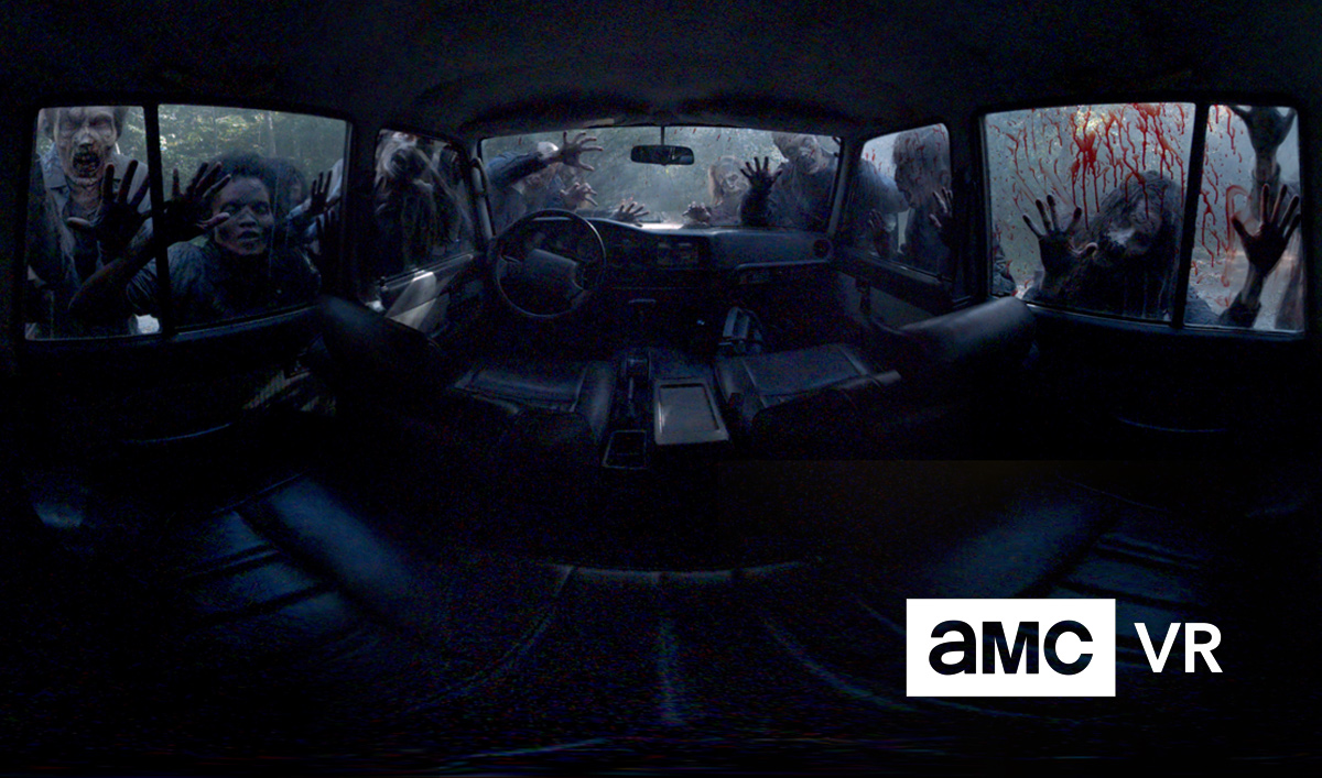 AMC Launches New VR App With Brand-New <em>The Walking Dead</em> VR Experiences
