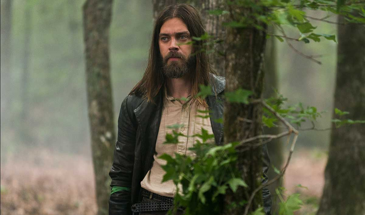 (SPOILERS) <em>The Walking Dead</em> Q&#038;A — Tom Payne (Jesus)