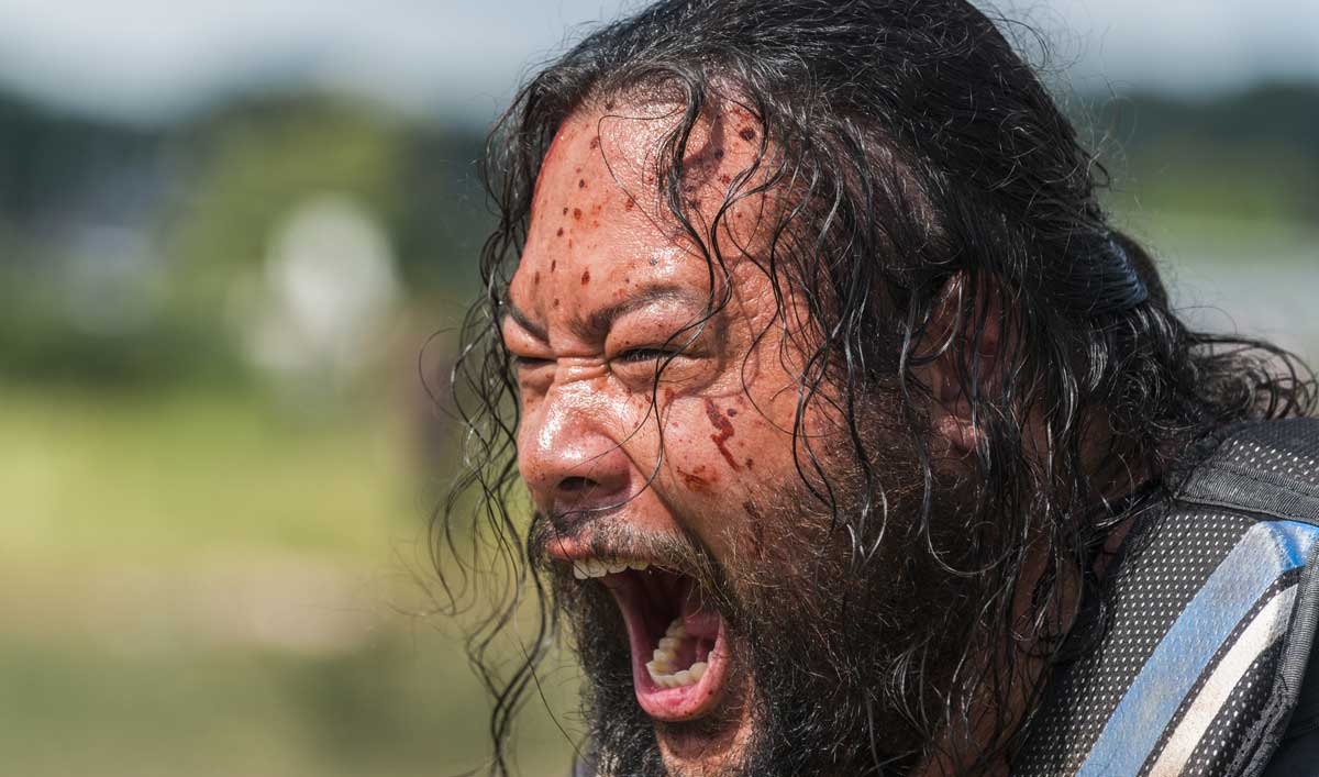 Go BTS of <em>The Walking Dead</em> Episode 4 as Jerry Goes Berserk With a Battle Axe