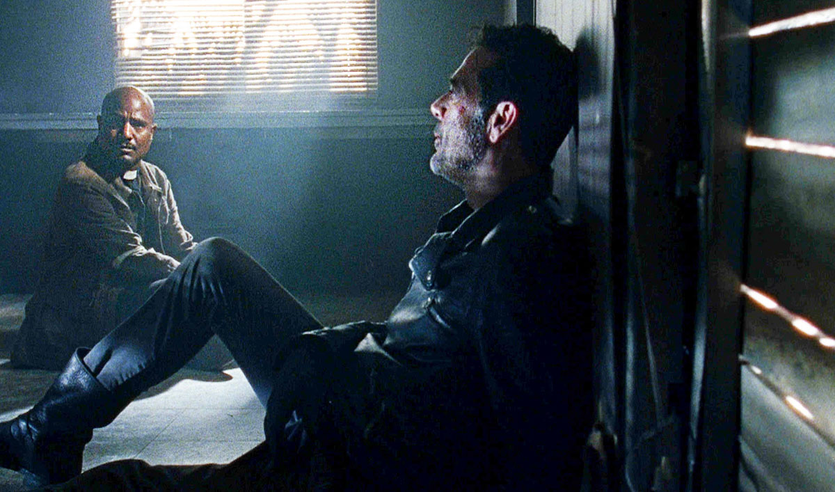 Sneak Peek of <em>The Walking Dead</em> Episode 5 — Why Negan and Father Gabriel Aren't That Different