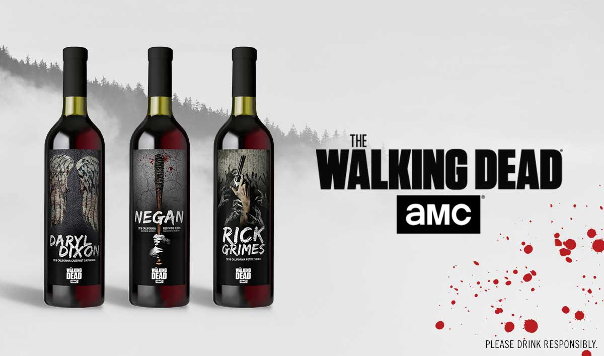 AMC and Lot18 Launch New <em>The Walking Dead</em> Wine Collection