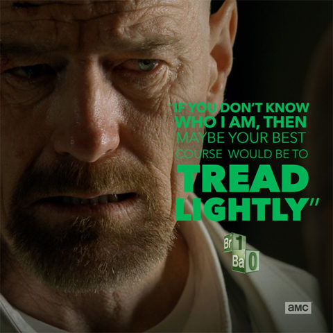 Breaking Bad Quote Cards