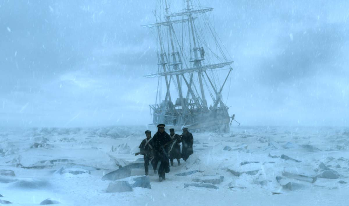 <em>The Hollywood Reporter</em> Reviews <em>The Terror</em>; <em>Variety</em> Talks With <em>Terror</em> Showrunners
