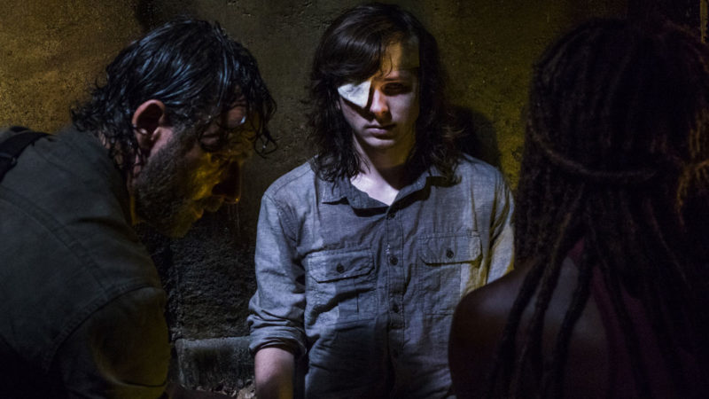 Go Inside <em>The Walking Dead</em> Mid-Season Finale's Somber Conclusion