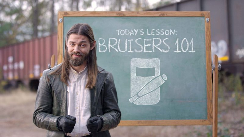 Playtime With Jesus: Bruisers 101