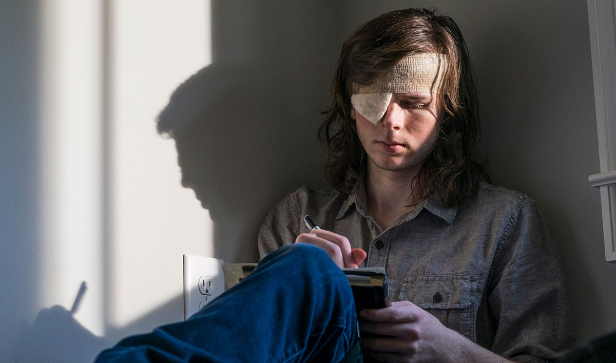 (SPOILERS) <em>The Walking Dead</em> Q&#038;A — Chandler Riggs (Carl)