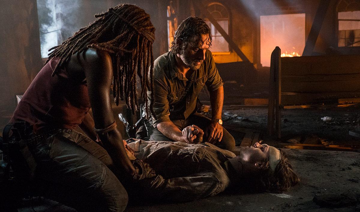 Chandler Riggs Talks Judith Scene With <em>EW</em>; <em>TVLine</em> Interviews Scott Gimple