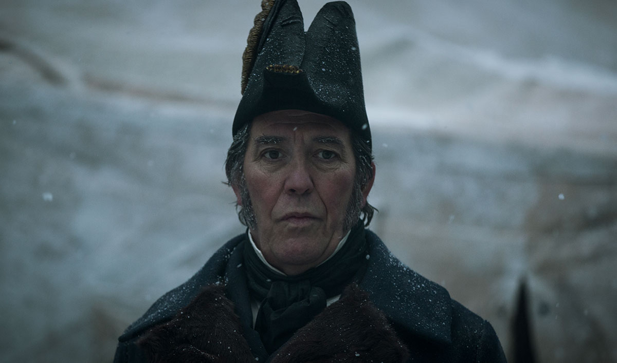 <em>The Terror</em> Q&#038;A — Ciarán Hinds (Sir John Franklin)