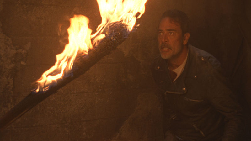(SPOILERS) Talked About Scene from The Walking Dead: Season 8, Episode 12