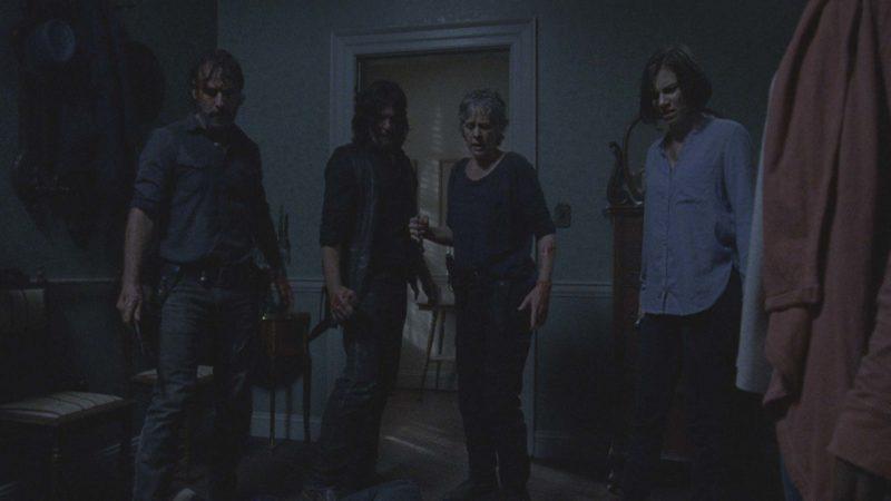(SPOILERS) Talked About Scene from The Walking Dead: Season 8, Episode 13