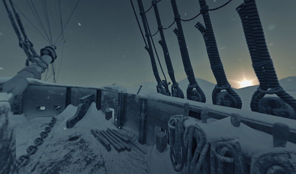Step Into the Horrors of <em>The Terror</em> in New 360° VR Experience