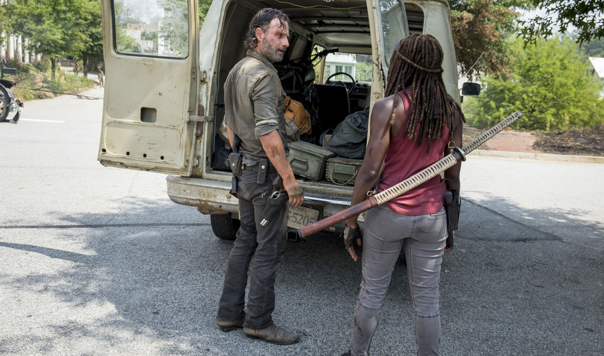 Rick and Michonne Look for Jadis and Find a Heap of Trouble in <em>The Walking Dead</em> Episode 10