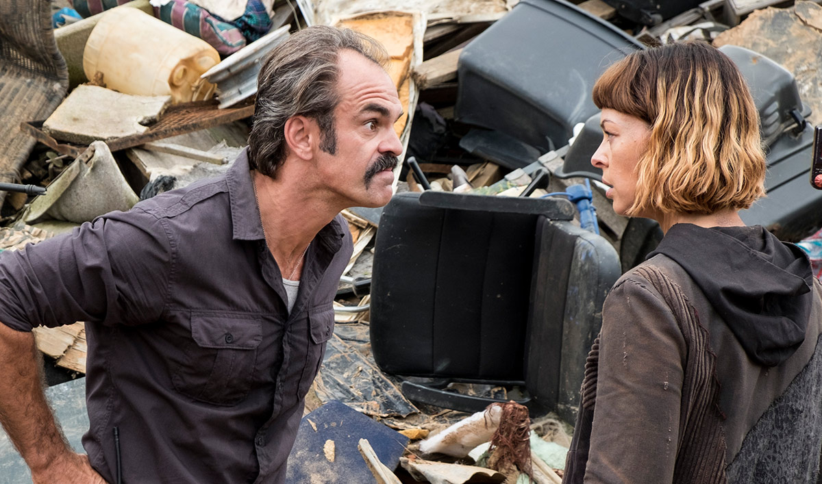 Steven Ogg Talks to <em>EW</em>; <em>THR</em> Chats Heapsters With Pollyanna McIntosh