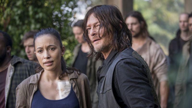 Daryl Tries to Get the Alexandrians to Safety in <em>The Walking Dead</em> Episode 11
