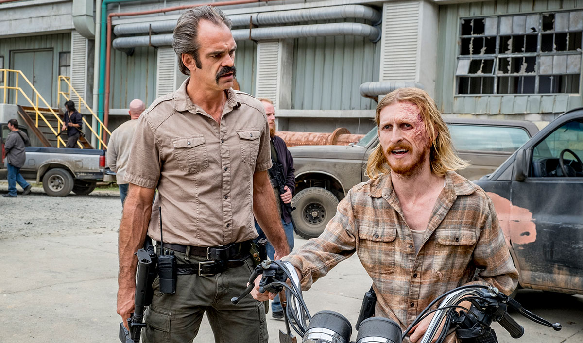 Extra for <em>The Walking Dead</em> Season 8, Episode 12