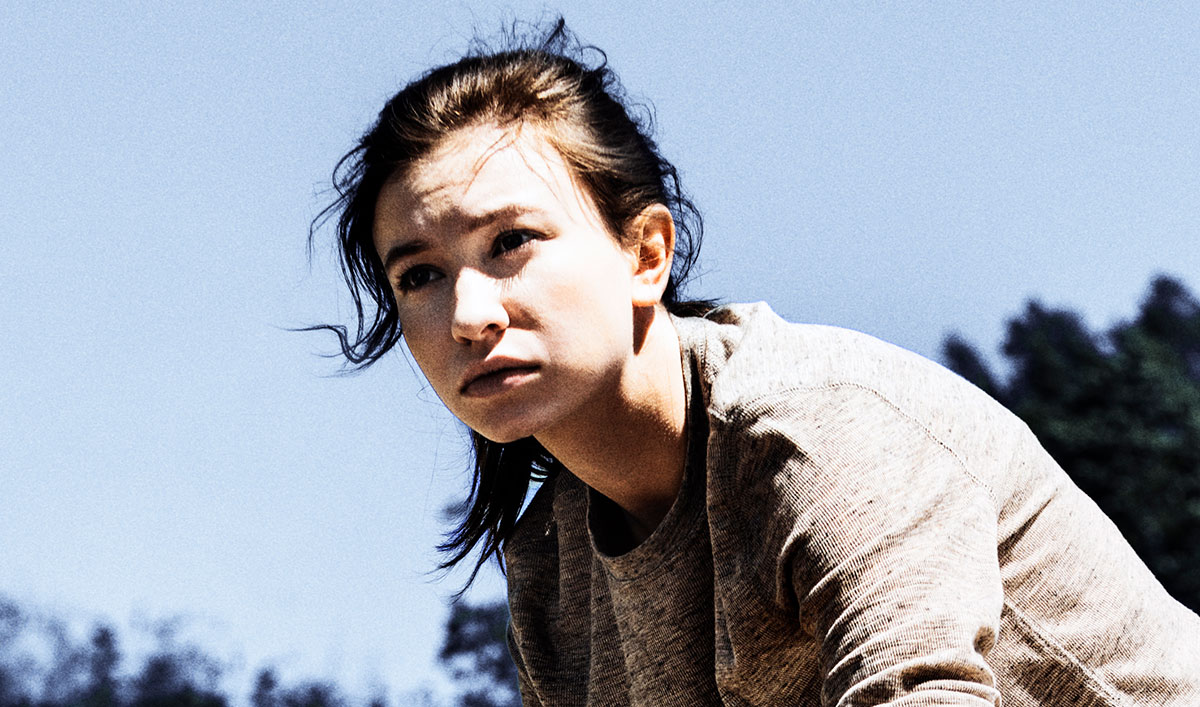 (SPOILERS) <em>The Walking Dead</em> Q&#038;A — Katelyn Nacon (Enid)