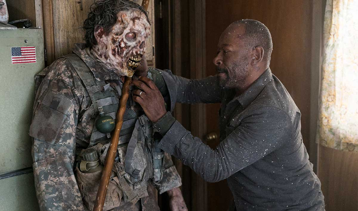 (SPOILERS) <em>Fear the Walking Dead</em> Q&#038;A — Lennie James (Morgan)