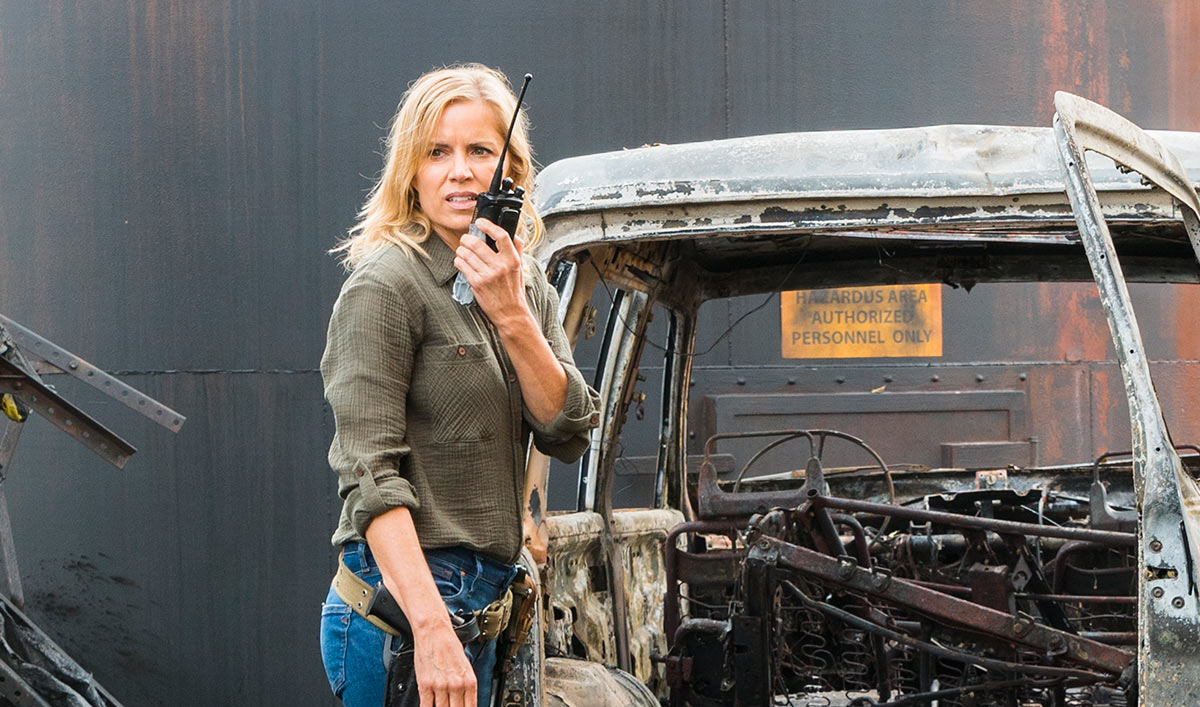 Sneak Peek of <em>Fear the Walking Dead</em> Episode 2: Madison and Alicia Stumble Upon a Burnt Down Camp