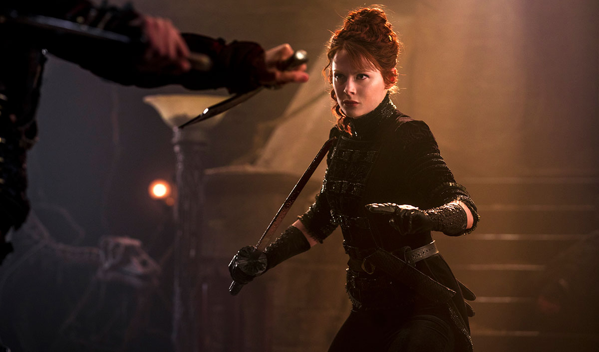 <em>Into the Badlands</em> Q&#038;A &#8212; Emily Beecham (The Widow)