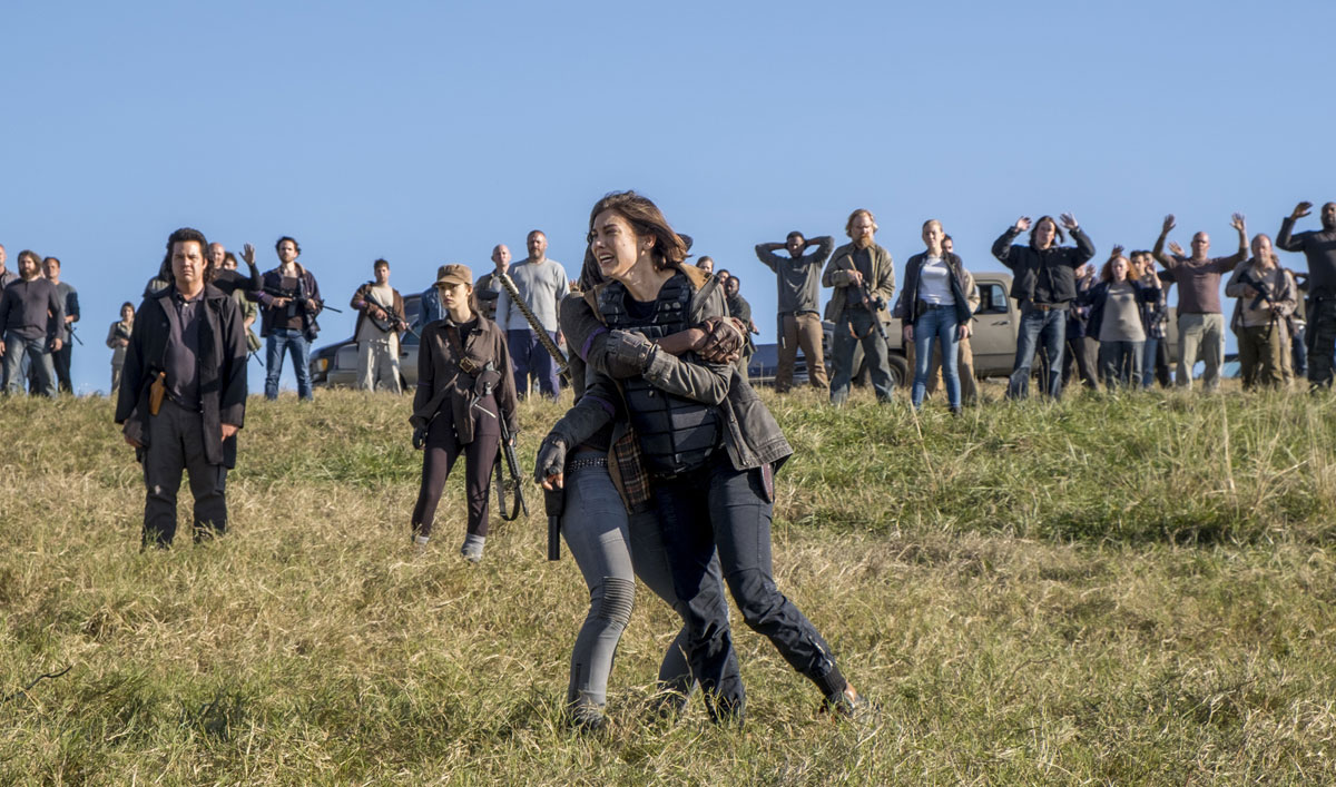 Maggie Wants Vengeance in This Talked About Scene From <em>The Walking Dead</em> Season 8 Finale