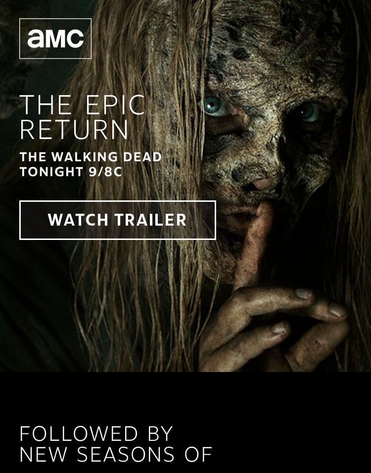The Walking Dead Returns Tonight 9/8c