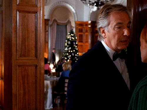 Alan Rickman (Eli Michaelson) confronted by Lindy Booth (Beth) in Nobel Son[1]