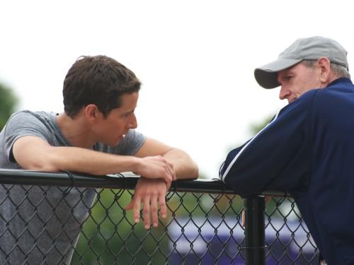 Kelly Blatz & Richard Jenkins at the Fence