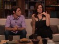 Betsy Brandt and RJ Mitte answer a fan's question about Hank and Marie's relationship.