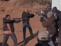 Go behind the scenes of the shootout between Hank and Jack in Navajo Territory.