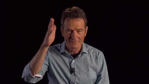 Bryan Cranston discusses his experience playing the character of Walter White.