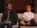 Greg Nicotero, Hayley Williams, and Doug Benson discuss the character of Carol and her motivations for teaching the children to use weapons.