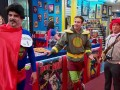 The Stash holds a 75th birthday party for Superman with a special guest.