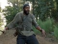 Tyreese finds an unexpected survivor in this talked about scene from episode 410.