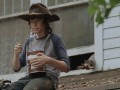 Chandler Riggs talks about growing up on the set of The Walking Dead.