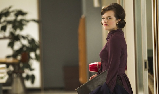 Mad Men Episode 511 - Peggy Olson (Elisabeth Moss) quits