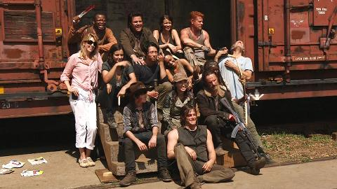 Andrew Lincoln and the cast and crew of The Walking Dead welcome you back to the set of Season 5.