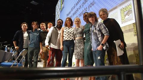 Tag along with the cast of The Walking Dead as they experience Comic-Con 2014. The new season premieres Sunday, Oct. 12 at 9pm.