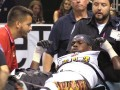 The LA KISS hits a roadblock when nose guard Nigel Nicholas is injured during a game.