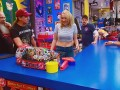 Kevin's daughter Harley Quinn Smith visits the stash to get lessons in clerking from the Comic Book Men.