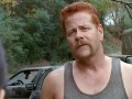 Michael Cudlitz talks about his experiences discovering and playing Abraham on The Walking Dead.