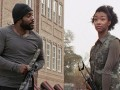 Sonequa Martin-Green talks about what it's like having an on-screen brother and her experiences working alongside Chad L. Coleman.