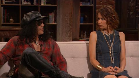 Slash and Mary Lynn Rajskub share their predictions for what will happen on the next episode of The Walking Dead.